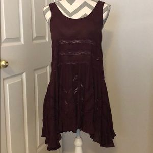 Free People Viole and Lace trapeze slip